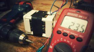 taladro destornillador eléctrico