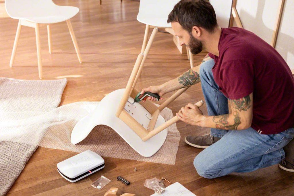 destornillador eléctrico ideal para trabajos domésticos