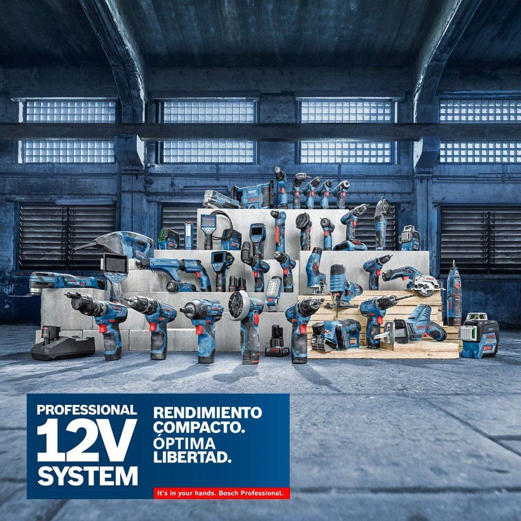 12V System nos garantiza una potencia constante sin sorpresas. bosch gsr 12v-15