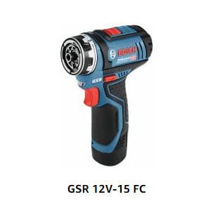 destornillador electrico de bosch gsr 12v-15 fc