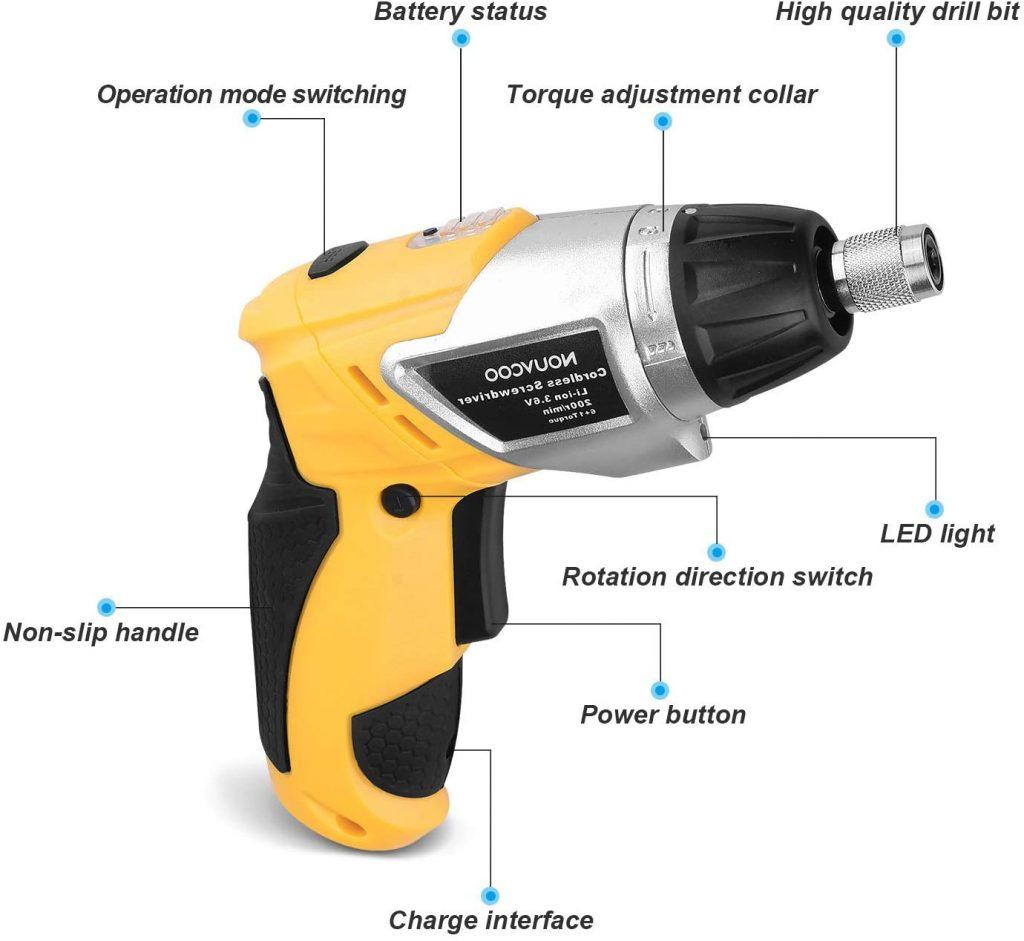Destornillador electrico de dimensiones reducidas pero con una potencia superior
