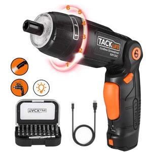 tacklife sdh13dc,sdh13dc,destornillador electrico pequeño y barato